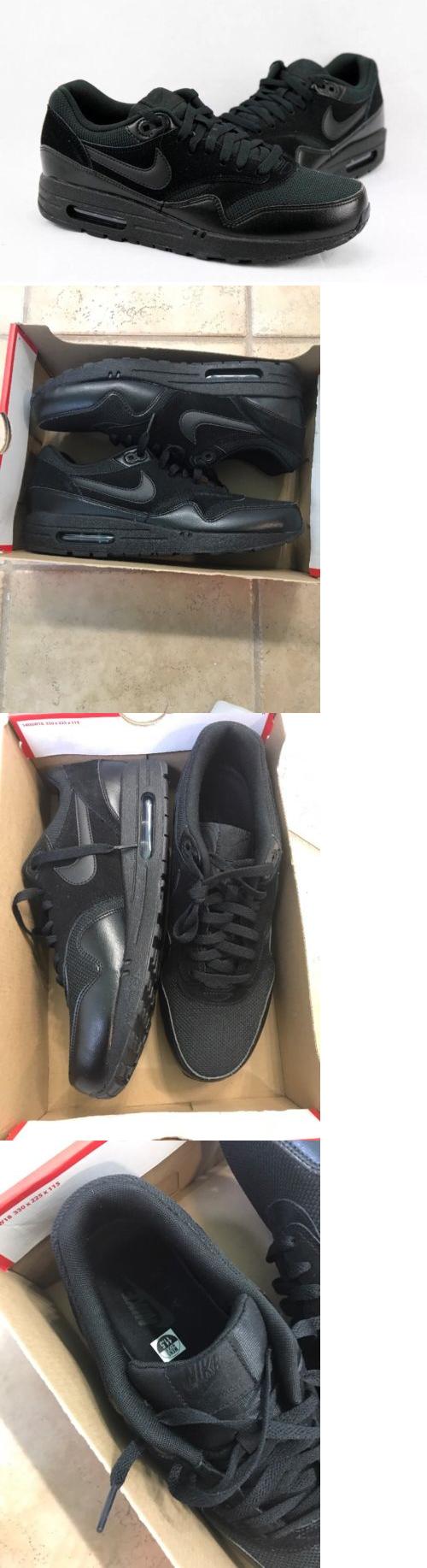 Uomo scarpe  Nike Air Max 1 Essential Nero Uomo S In esecuzione scarpe Size