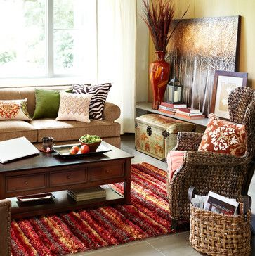 Pier 1 Imports Contemporary Living Room Other Metro