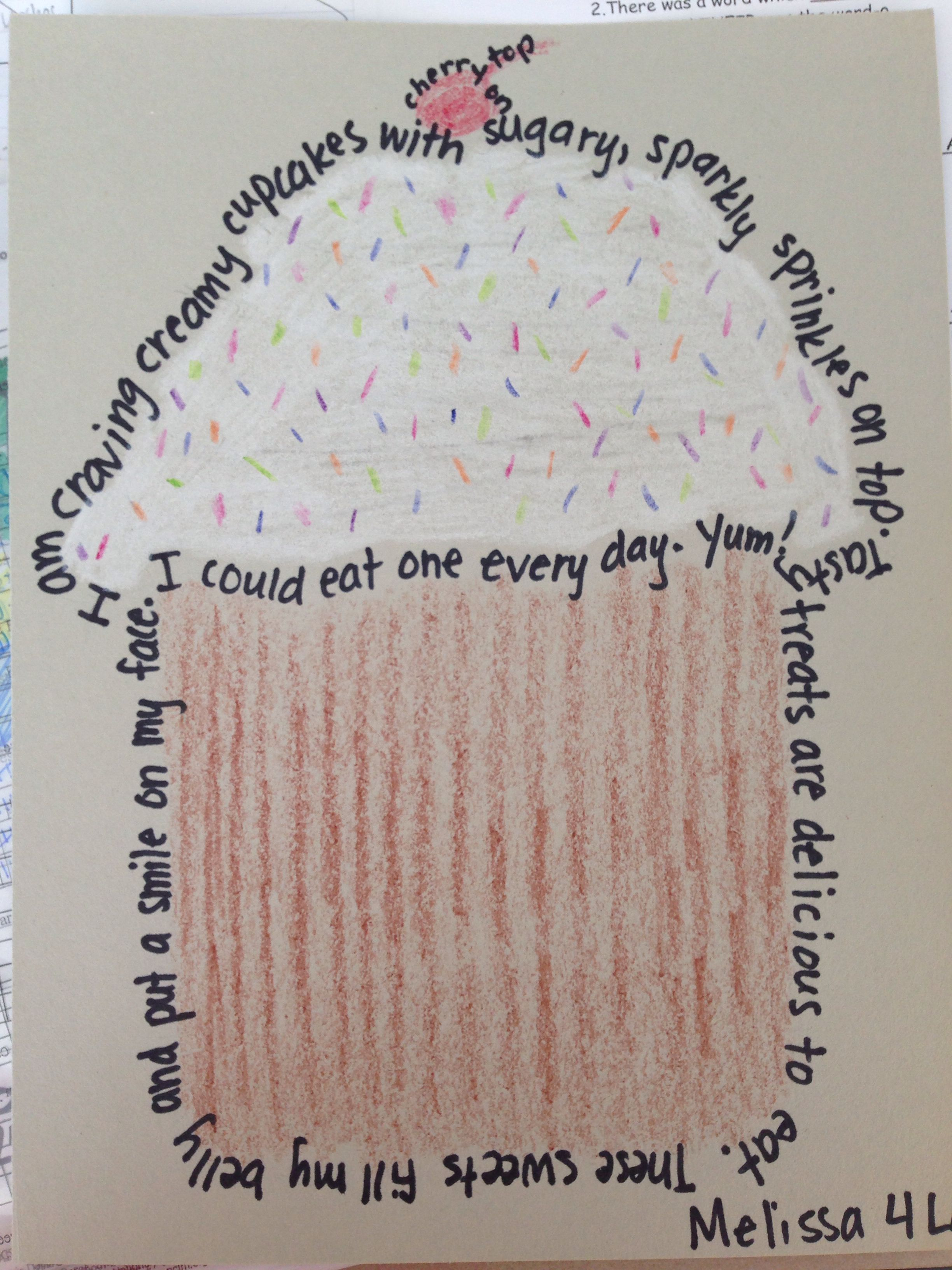 My Example For Teaching Concrete Poetry Using Alliteration To Fourth Grade