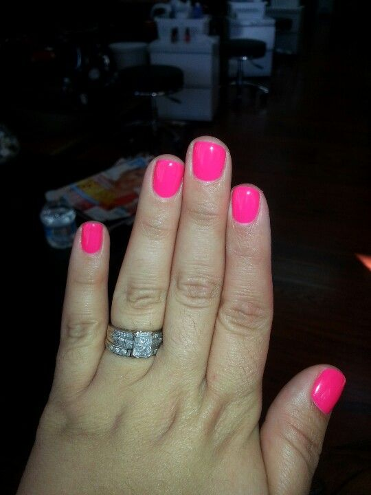 Pin By Angelica Campa On Love My Nails Pink Gel Nails Fun Nails Acrylic Nails