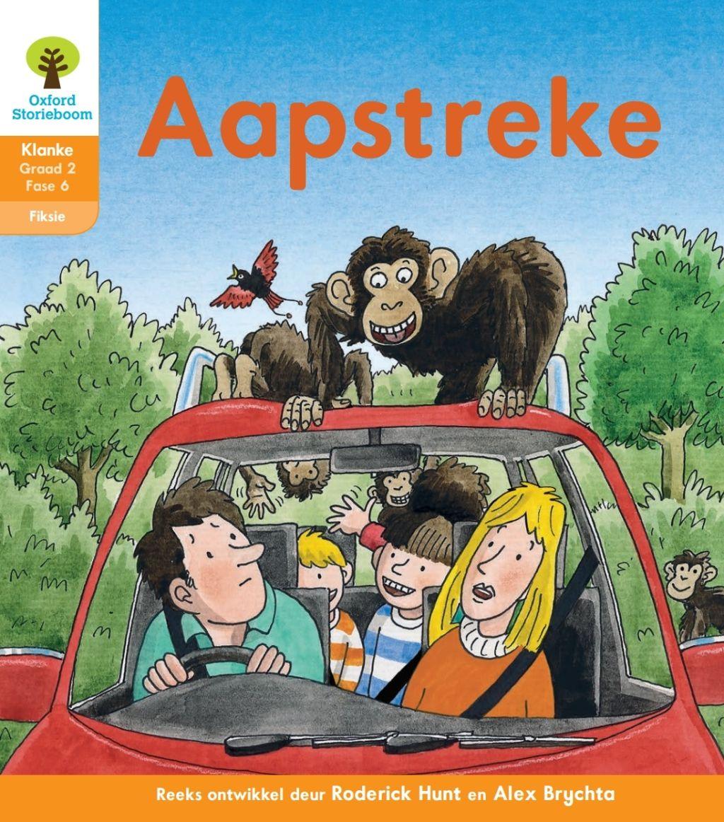 Oxford Storieboom Klanke Fiksie Boek 17 Graad 2 Fase 6 Aapstreke Ebook Oxford Reading Tree Kids Story Books Free Morning Work [ 1162 x 1024 Pixel ]