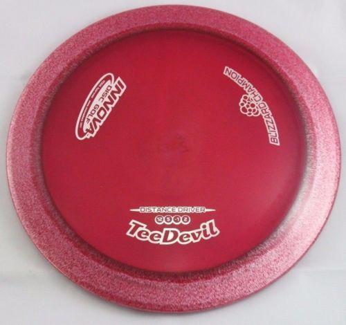 Blizzard Champion TeeDevil 148g Driver Innova Disc Golf Maroon Disc Golf Disc