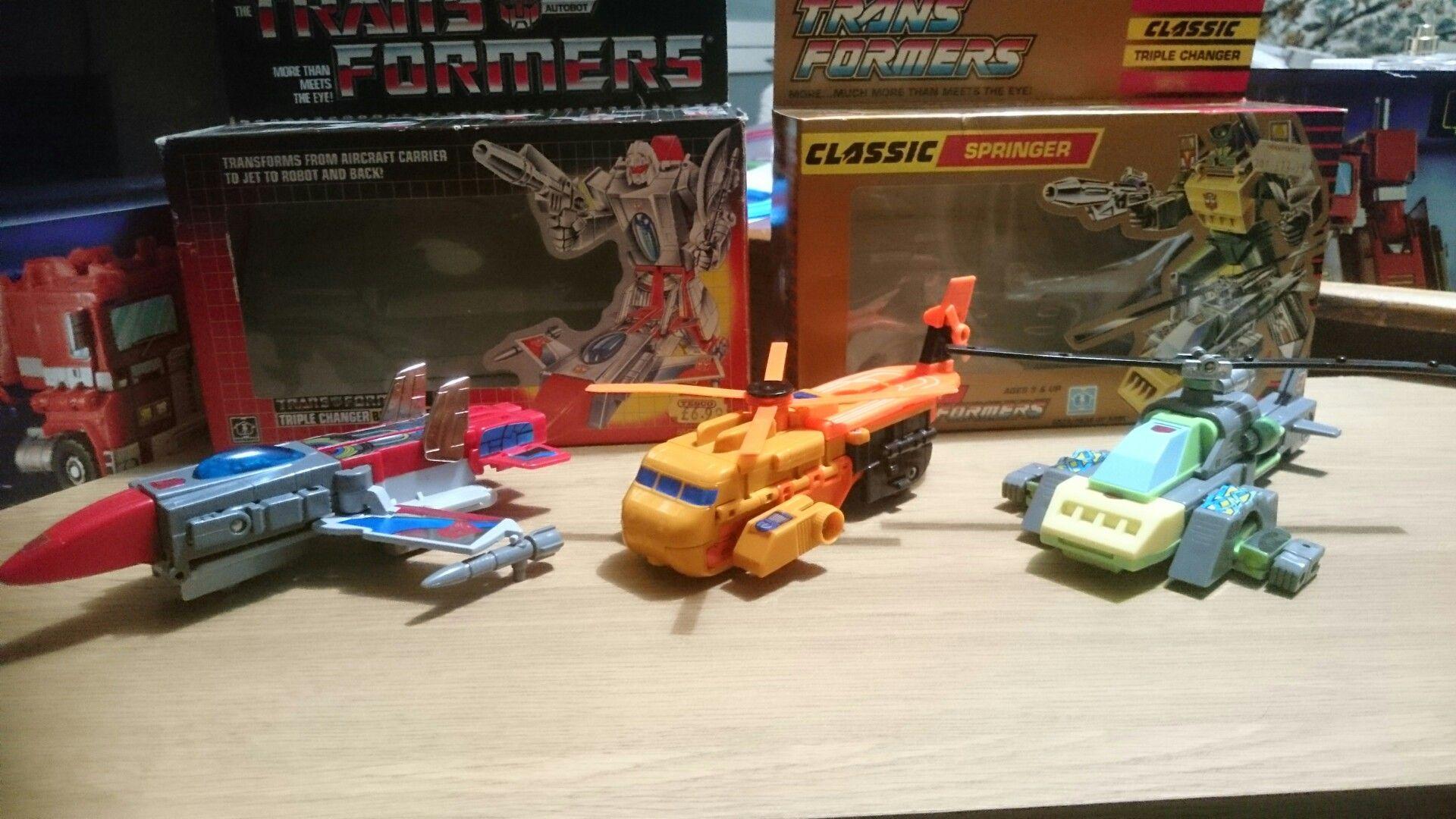 Transformers G1 Springer reissue brand new Gift