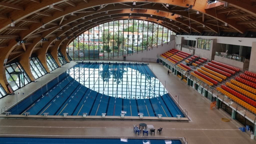 Funchal Olympic Swimming Pool Swimming Camp Pinterest