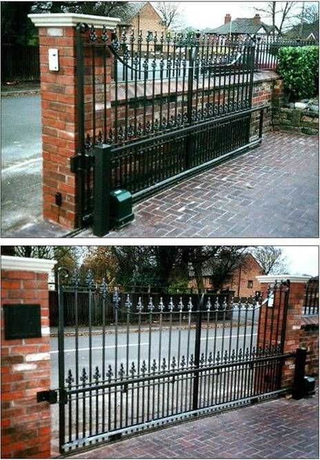 Viceroy Automatic Sliding Driveway Gate Driveway Gate Sliding Gate Entrance Gates Design