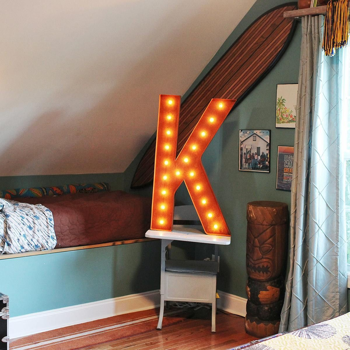 36 Letter K Lighted Vintage Marquee Letters Rustic Vintage Marquee Lights Vintage Marquee Vintage Marquee Letters