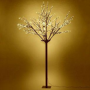 Warm White Led Light Up Christmas Cherry Blossom Tree 2 5m White Led Lights Led Lights Cherry Blossom Tree