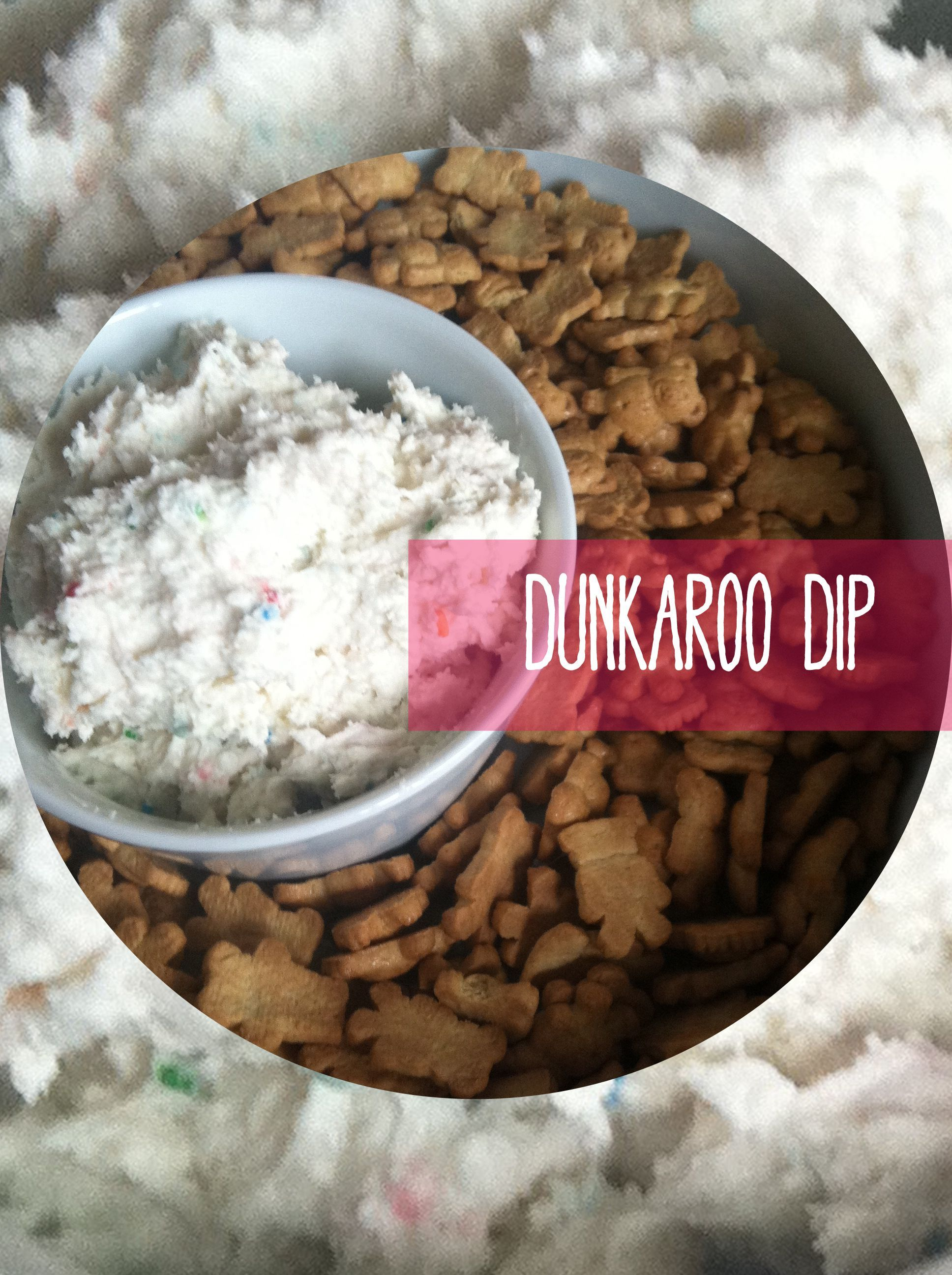 A sweet treat from my childhood lunchbox. #dunkaroodip Dunkaroo Dip || Something Beautiful Blog