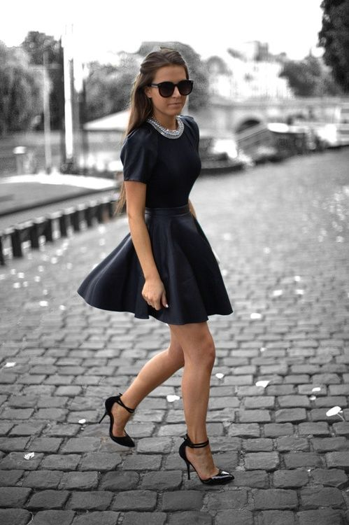 Little Black Cocktail Party Dress #Cocktail #Party #Dress