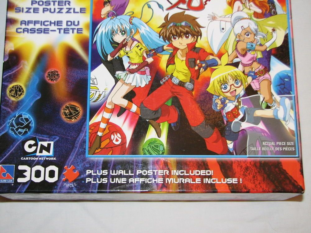 New Bakugan Battle Brawlers 300pc Poster Size 36 X20 Puzzle