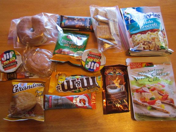 Five Day Lightweight Backpacking Meal Plan
