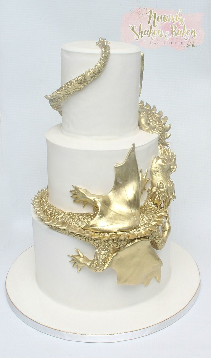 Dragon wedding cake pic 4 #wedding #weddingcake #bne #brisbane ...