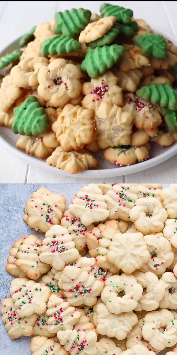 Easy Cream Cheese Spritz Cookies Recipe