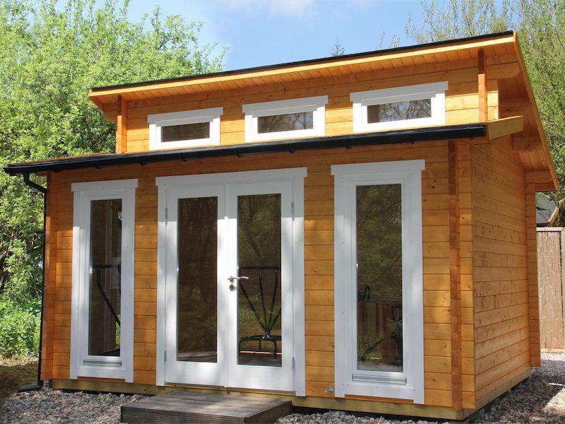Gartenhaus Langeoog 40 Gartenhaus, Haus, Fenster einbauen