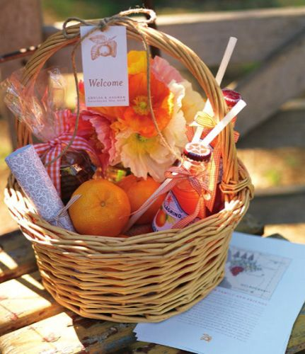 Welcome Basket-Wedding Style Guide | Gift, Basket ideas and Homemade ...