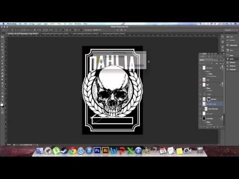 eeedc4148 How To Design A Shirt Graphic - For Beginners (Step - by - Step) - YouTube