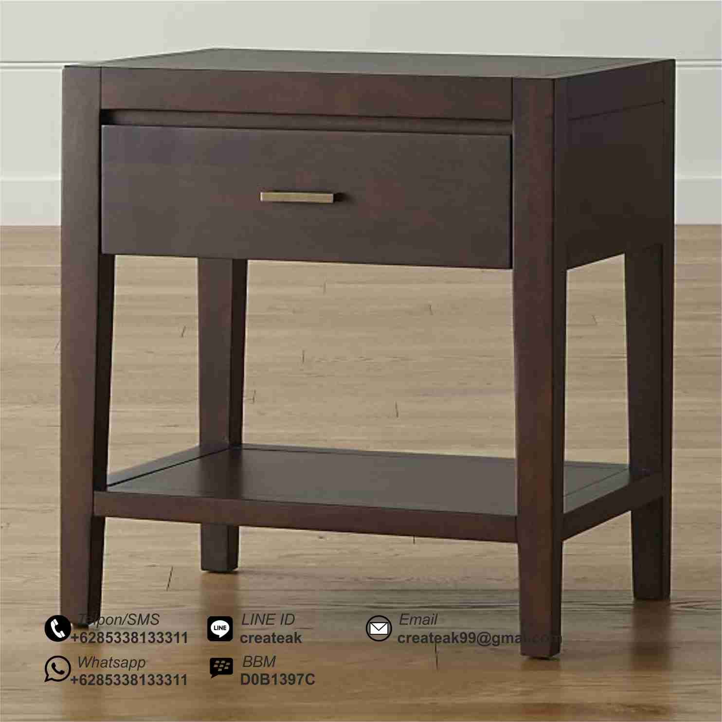 Dawson clove nightstand stylish beds 6 drawer dresser storage drawers bedside nightstand