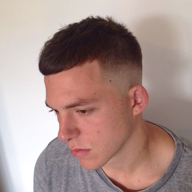 Mens Hair Textured Crop For The Summer Crop Texture Fade