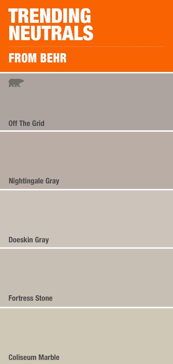 Trending Neutrals Home Depot Paint Colors Home Depot Paint Paint Colors For Home #paint #colors #for #living #room #home #depot