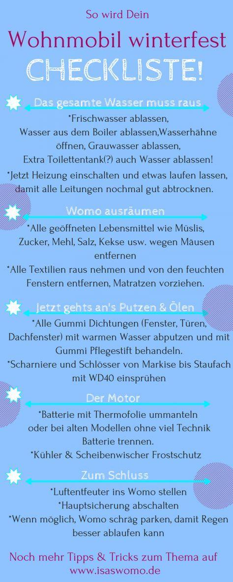 So wird das Womo winterfest #essentialsforcamping