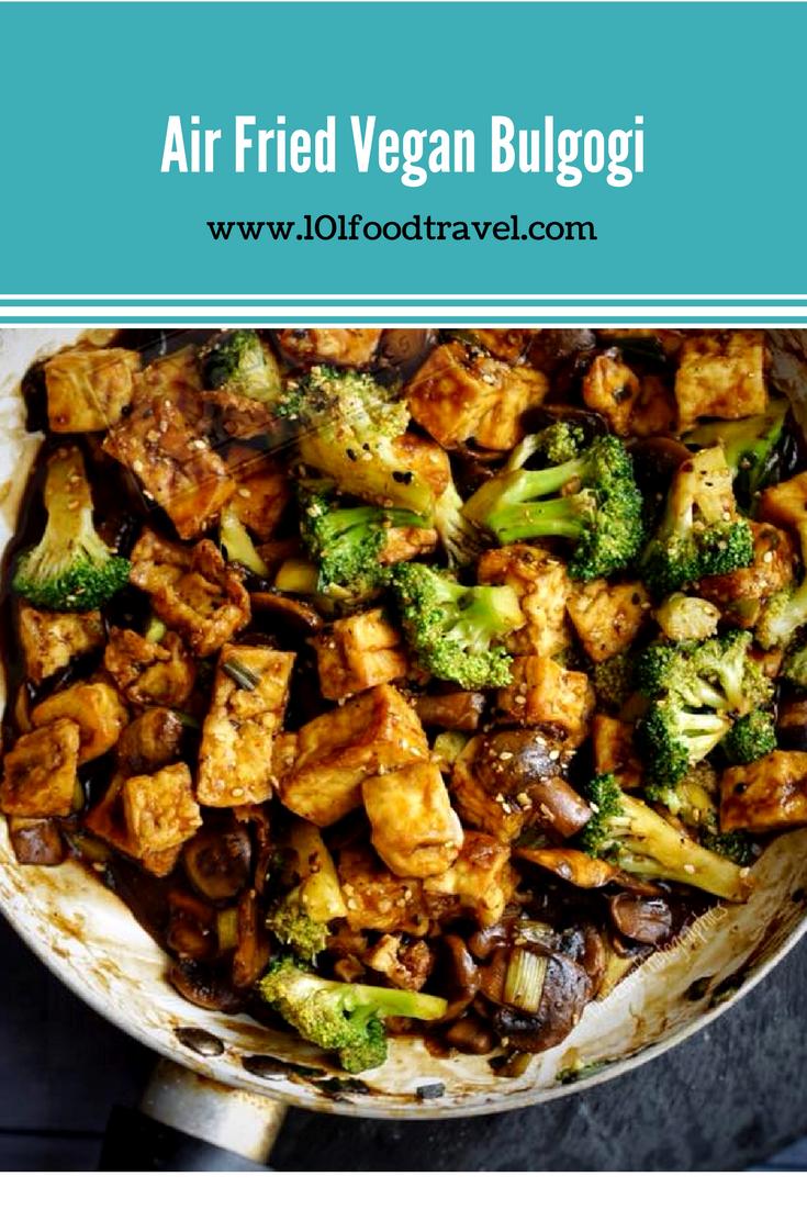 Air Fried Vegan Bulgogi | Recipe | Food recipes, Bulgogi ...