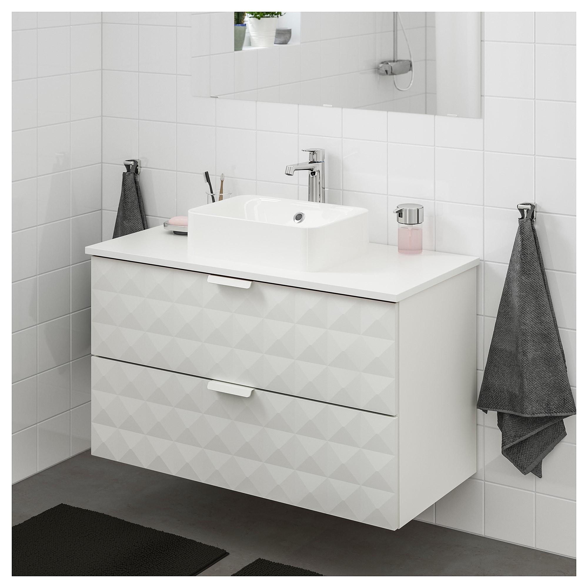Godmorgon Tolken Horvik Waschbeckenschr Aufsatzwaschb 45x32 Resjon Waschbeckenschrank Waschbeckenunterschrank Urtumliche Badezimmer