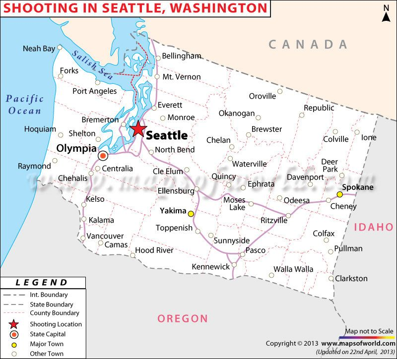 Davenport Washington Map.Shooting In Washington Map Maps Washington Map Map Washington