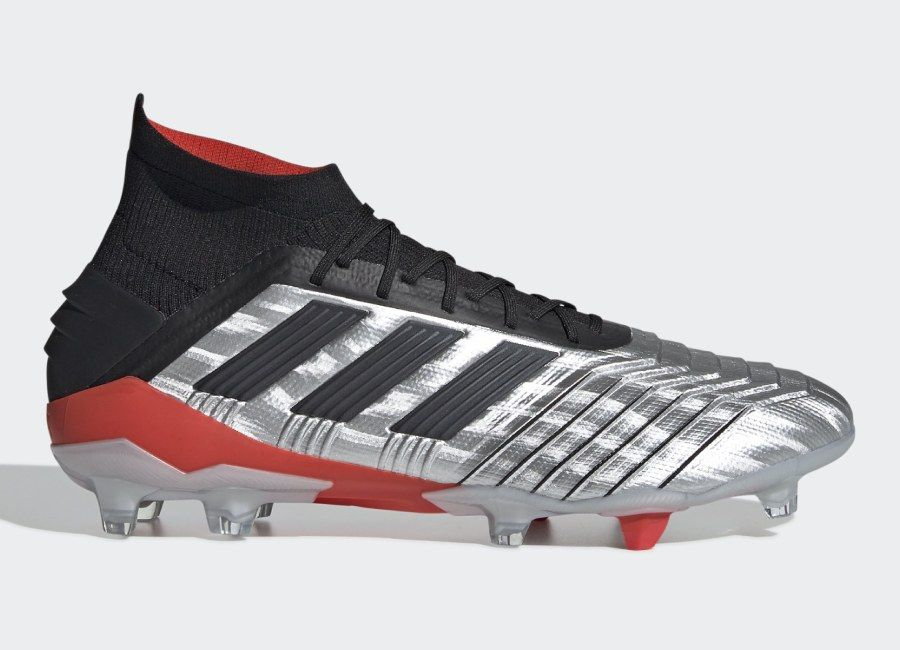 amazing price exclusive shoes authorized site Adidas Predator 19.1 FG 302 Redirect - Silver Met / Core ...