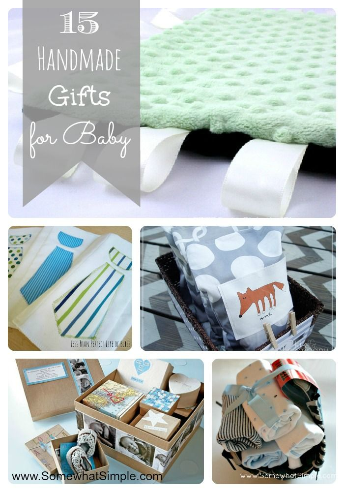 Homemade Baby Shower Gifts Handmade Baby Gifts Baby Gifts