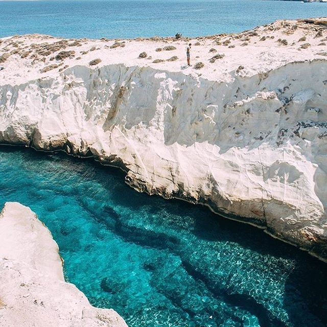 MILOS ISLAND, GREECE. Follow @nellyvels for more dreamy photography from Greece!  Photo by © @nellyvels