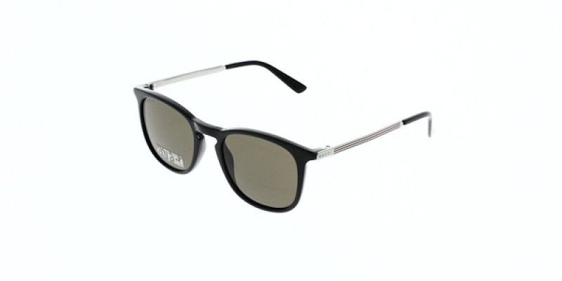Gucci Sunglasses GG1130 S CVS EJ 51 is a black frame and is designed ...