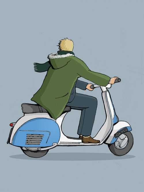 MODDES Scooter