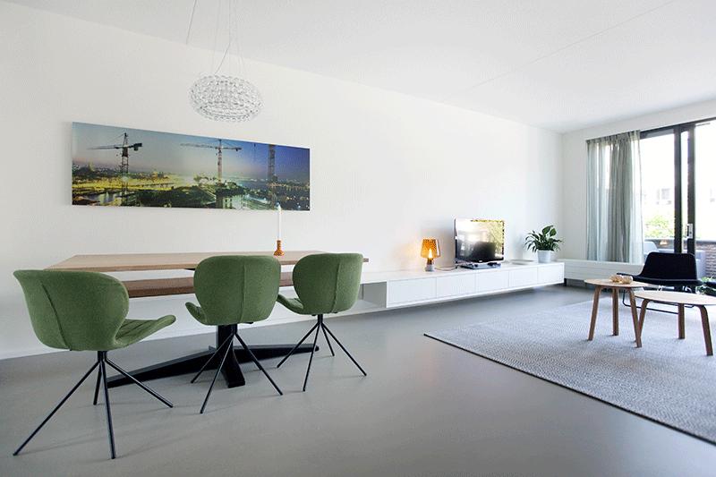 Een gerestylde woonkamer in IJburg | interieur design by nicole ...