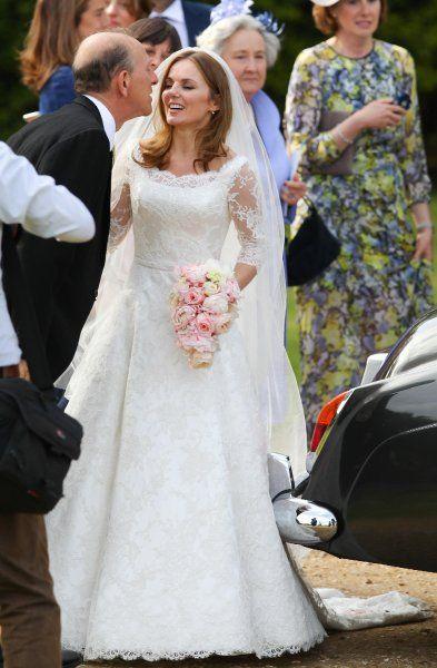 0458d5bf2b96 Matrimoni vip  gli abiti da sposa più belli del 2015 nel 2019 ...