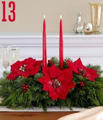 24 Christmas Centerpiece Ideas » Random Tuesdays Christmas