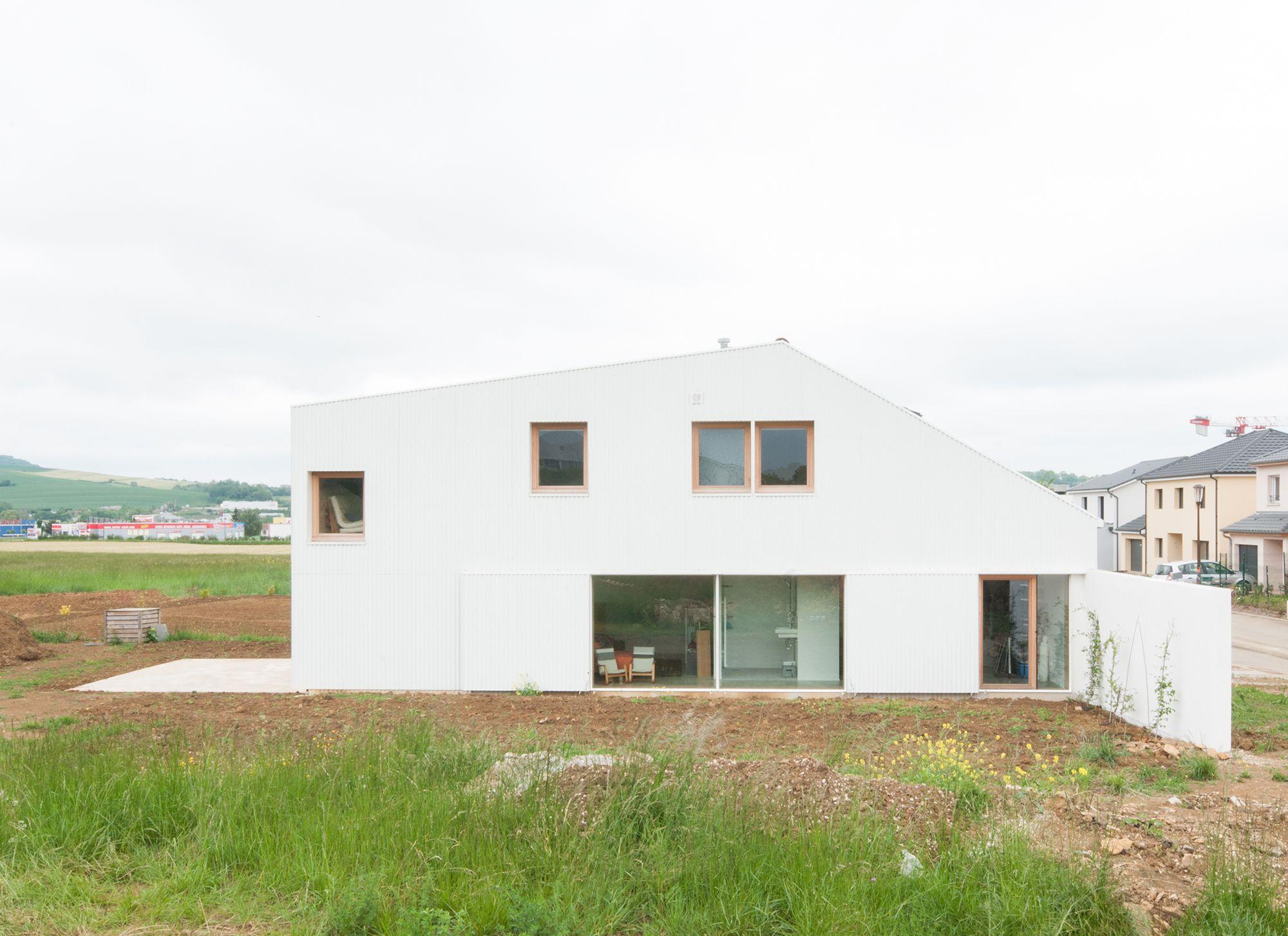 Zwischen normal und eigenartig: Einfamilienhaus in Pulnoy