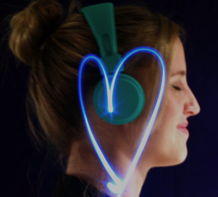 Self Portrait Cat Ear Headphones Portrait In Ear Headphones