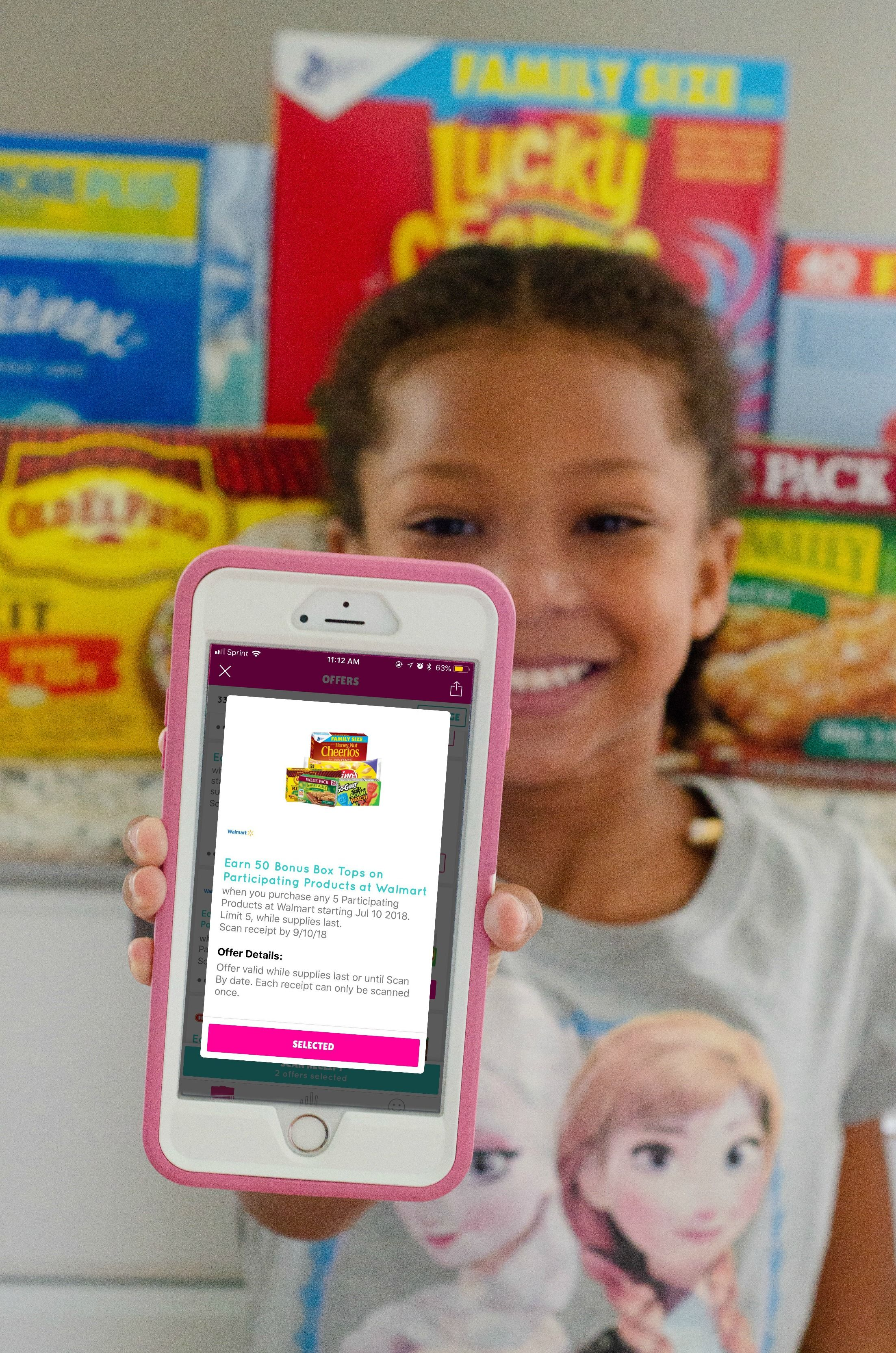 Did you know BoxTops are easier than ever to claim