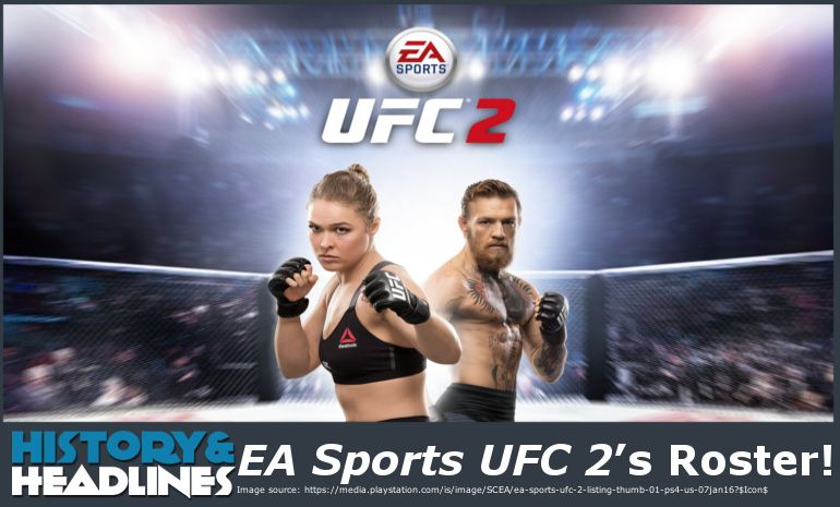 Ea Sports Ufc S Roster Www Historyandheadlines Com