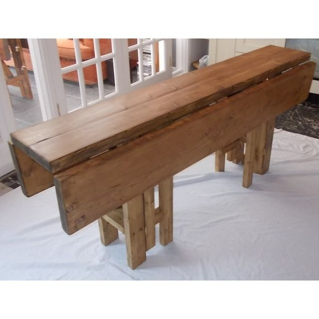 Large Rustic Folding Table Drop Leaf Dining Table In Kitchen Rustic Folding Tables Space Saving Dining Table