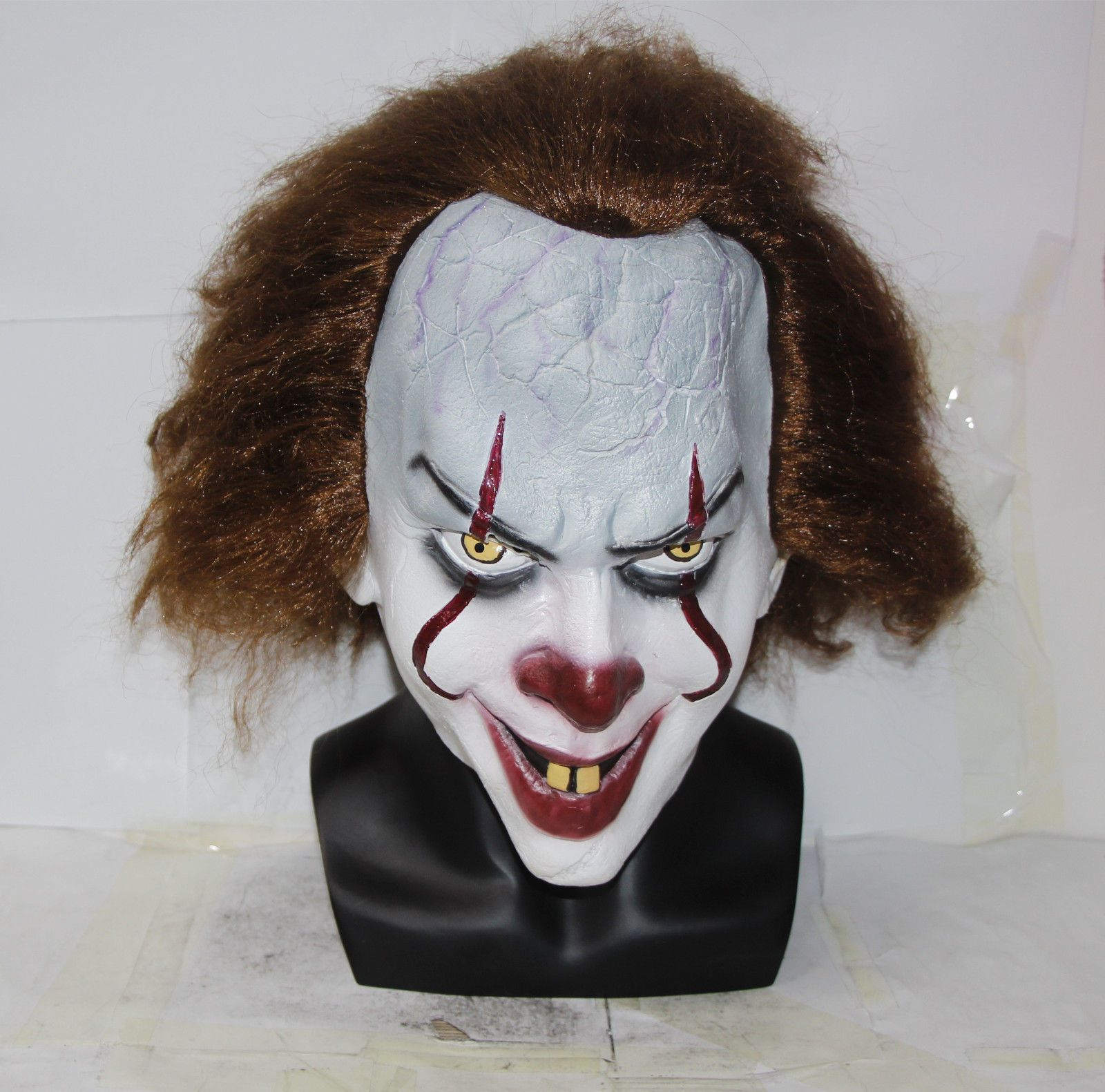 Masks and Eye Masks 116724: Stephen King S It Mask Pennywise Clown ...