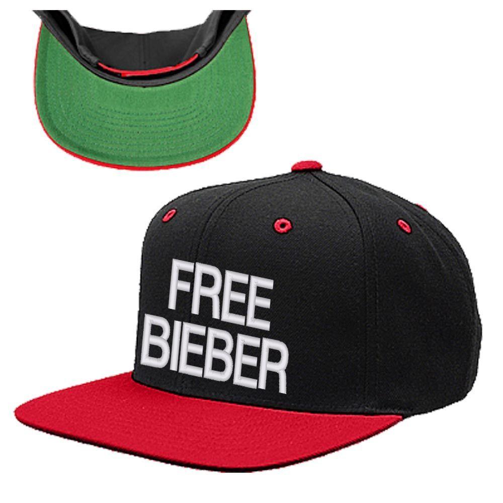 FREE BIEBER SNAPBACK HAT