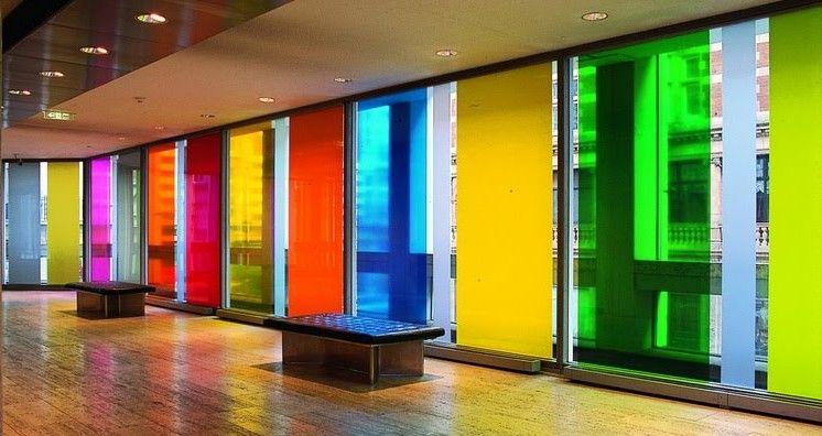 Vinilo transparente de colores vinils aparadors - Vinilo para vidrios ...