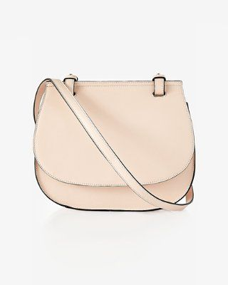 rounded contrast edge cross body bag from EXPRESS  b7ca034232d8d