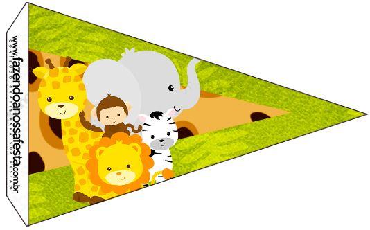 Bandeirinha Sanduiche Safari 6