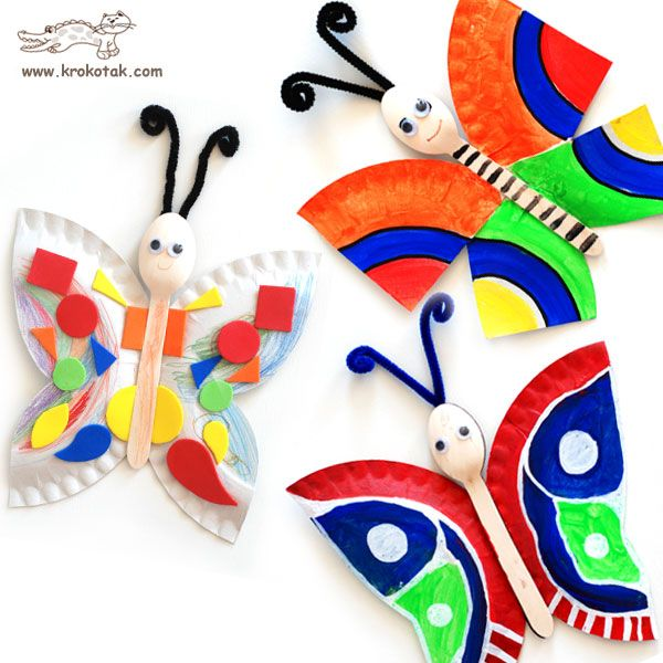 30 Best Creative Plastic Spoon Projects Craftionary Preschool Crafts Crafts Butterfly Crafts