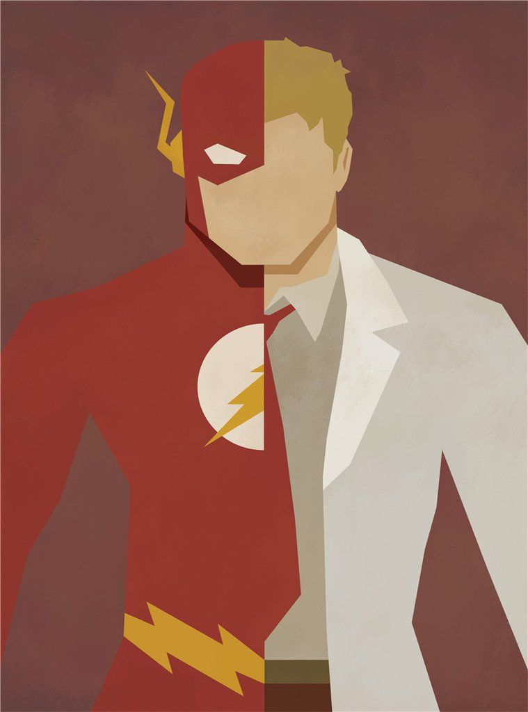 The Flash Alter Ego Oil Canvas – Novelty Force   Marvel/DC ...