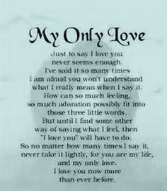 About My For Husband Love Poems