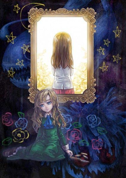 Ib And Mary Ib Game Rpgs Pinterest Oscuro La Nina Y Manga Anime