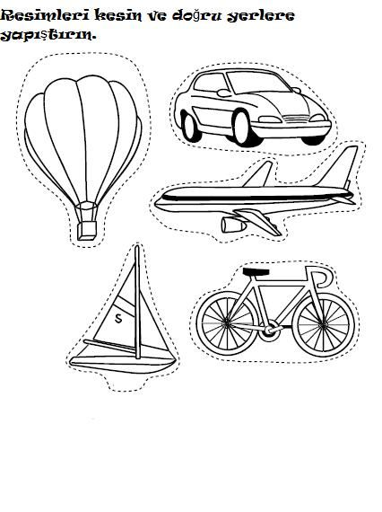 Transportation Worksheet For Kids Crafts And Worksheets For Preschool T Transportation Worksheet Transportation Preschool Preschool Transportation Worksheets